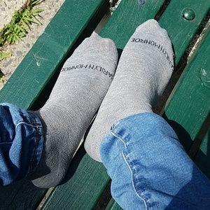 Women's Gray Marilyn Monroe Socks